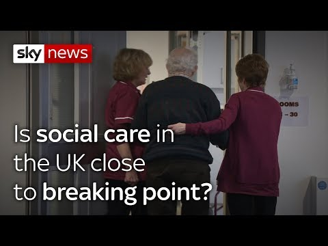 Is social care in  the UK close  to breaking point?