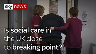 Is social care in  the UK close  to breaking point? thumbnail