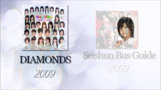 Shimizu Saki solo lines of year 2009 Songs : 01 - 「抱きしめて抱き...