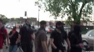 Occupy, anarchists Invade the South Side of Chicago (Occupy War Cry Fuck the Police)