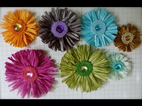 DIY:Easy to make Lila flower tutorial by SaCrafters