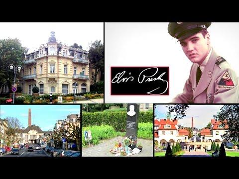Elvis A Soldier In Germany: His Elegant Hotel Home & Rock-N-Roll King Memorial (Prt.2/4)