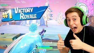 ICE STORM SOLO WIN! (Fortnite Zombie Victory Royale)