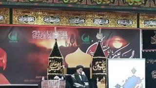 allama syed ghullam shabir hussain sherazi 02102016 majlis 1