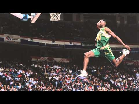 Shawn Kemp Dunk Contest
