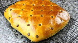 """Мягкий как ПУХ пирог """"Подушка"""".Потрясающе вкусный пирог с шоколадной начинкой."""