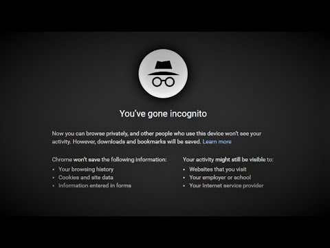 Incognito Mode Isn't As Private As You Think