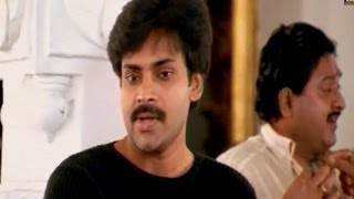 Kushi Movie || Pawan Kalyan, Bhoomika First Meeting at Temple