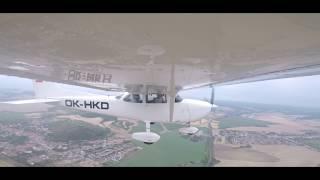 GoPro HD C172 Herbst Aero - Full flight thumbnail