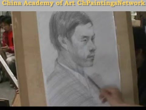 China Academy of Art - figure drawing class 1