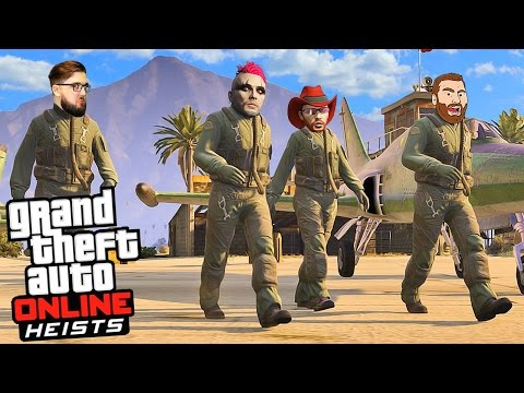 HEISTS HARD HIKE MODE (Part 2) | GTA V Online Live Stream | GTA 5 Let's Play Gameplay