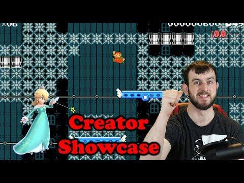 Mario Maker At Its Best - Creator Showcase Marc - Super Maker Maker
