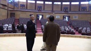 فيديو| رئيس جامعة سوهاج يتفقد قاعة المؤتمرات الكبرى بالجامعة الجديدة