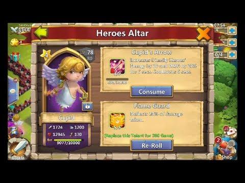 Castle Clash Cupid Review