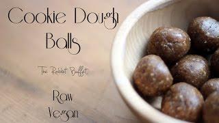 Cookie Dough Balls ✿ The Rabbit Buffet