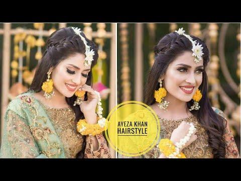 ayeza-khan-inspired-hair-tutorial-/-mehndi-hairstyle-||-easyhairstyles