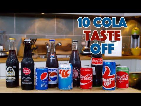 DIY Squozen Cola Vs. 10 Store Bought Colas  Ultimate Taste Off!