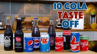 DIY Squozen Cola Vs. 10 Store Bought Colas  Ultimate Taste Off! || Glen & Friends Cooking