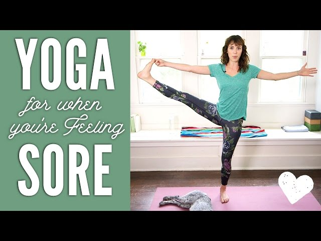 Yoga For When You're Sore (with special guest)