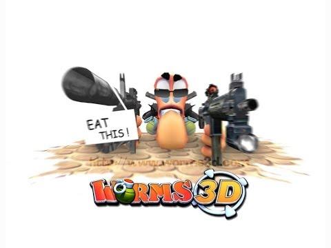 Worms 3D - Холодильник-Зло