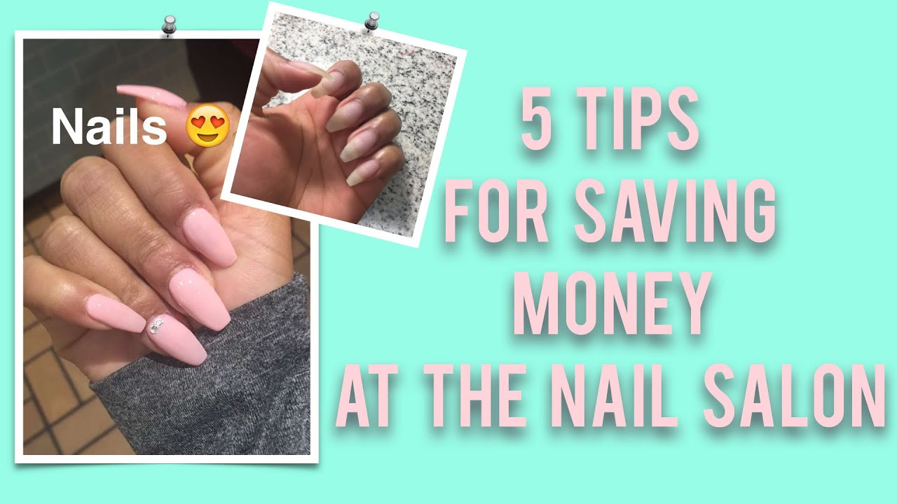 5 Tips for Saving Money at the Nail Salon   BeautybyTommie - YouTube
