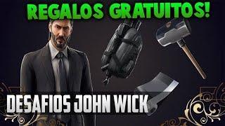 JOHN WICK WOLLEN SIE ES? KAUFEN SKIN FREE CHALLENGE GIFTS FORTNITE SEASON 9