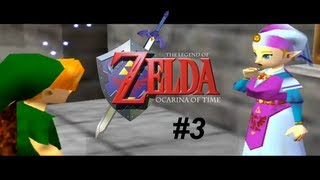 Vamos jogar - The Legend of Zelda: Ocarina of Time #3 - conversando com a Zelda!