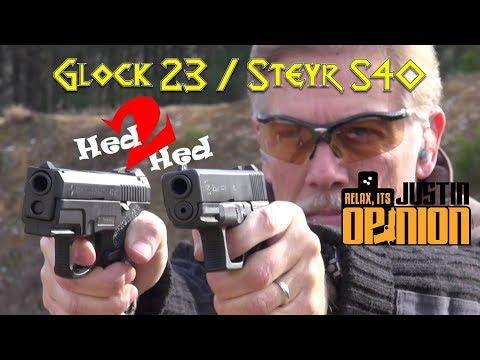 Steyr S-40 vs Glock 23