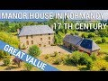 Authentic manor house for sale in Normandy, with gite and equestrian domain - Ref.: 90422RL50