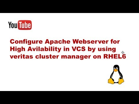 Configure Apache Webserver for High Avilability in VCS by using veritas cluster manager on RHEL6