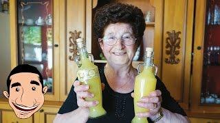 Limoncello Recipe Nonna Making The Best Limoncello In The World Italian Homemade Recipe Youtube