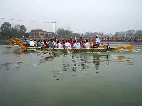 Lễ hội đua thuyền truyền thống làng Mai Xá (1/7)