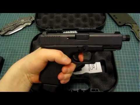 Пистолет. Glock 19 Pro + глушитель Impuls IIA Compact