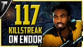 [World Record] 117 Lando Calrissian Killstreak - Star Wars Battlefront 2