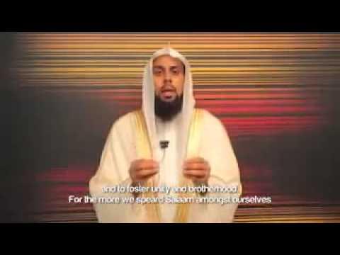 Sunnah of Greeting Strangers in Islam: By Shaikh Muiz Bukhary