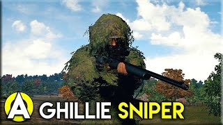 GHILLIE SNIPER! - PLAYERUNKNOWN'S BATTLEGROUNDS(, 2017-03-07T14:55:54.000Z)