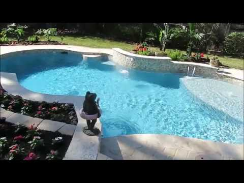 Yard Art swimming pool
