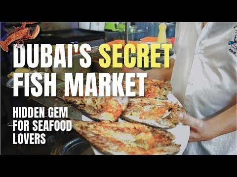 Dubai's SECRET Fish Market That You MUST Visit! | Food Vlog | Places To Eat In Dubai | Ultimate Tour