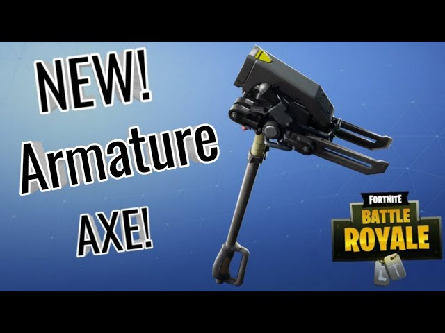 New armature Pickaxe sound test and review!