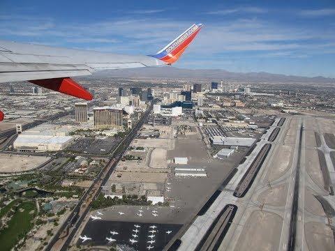 Las Vegas Airport Walk Through Terminal 1