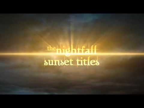 Twilight and Eclipse - Sunset Titles - After Effects templates from  Videohive