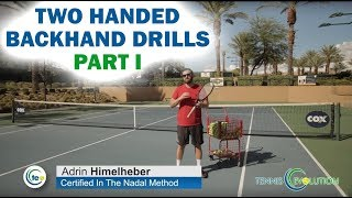 Online Tennis Lessons: Two Handed Backhand Drills Part I