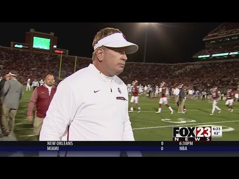 VIDEO - Mike Stoops talks after being fired by OU