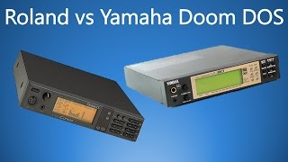 Roland vs Yamaha General MIDI Doom