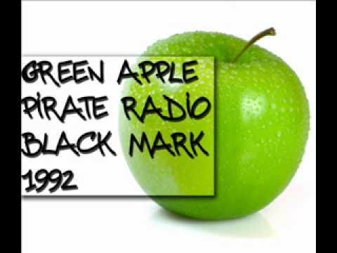 Green Apple - Pirate Radio - Black mark - 1992