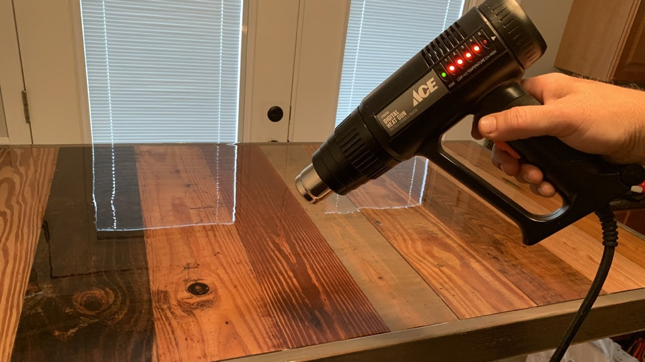 New Video: Wood Epoxy Coatings for Tables, Bars and Countertops