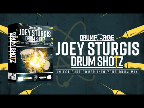 Drumshotz Joey Sturgis Now Available!