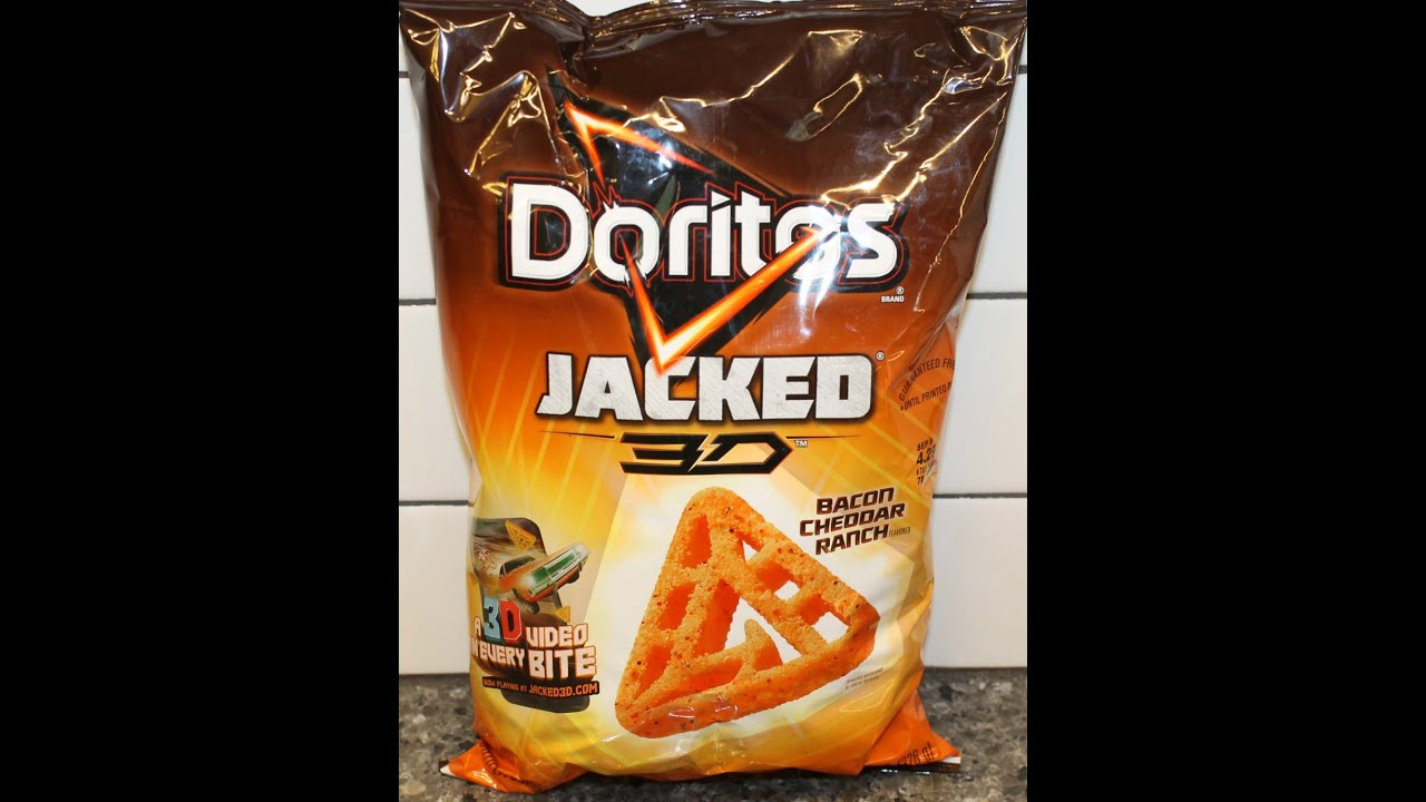 Doritos Jacked 3D Bacon Cheddar Ranch Review - YouTube 3d Doritos
