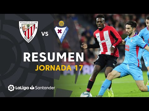 Resumen De Athletic Club Vs SD Eibar (0-0)