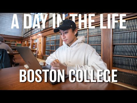 A Day in the Life at Boston College